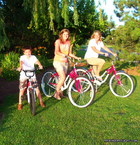 Rent a bike (#14 of 26) - Summer Winery, Romance and Family Vacation Getaway