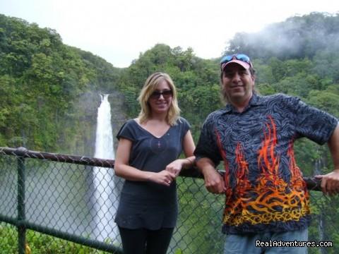 Akaka Water falls with Tyco (#3 of 4) - Amazing Volcano Big Island Tours