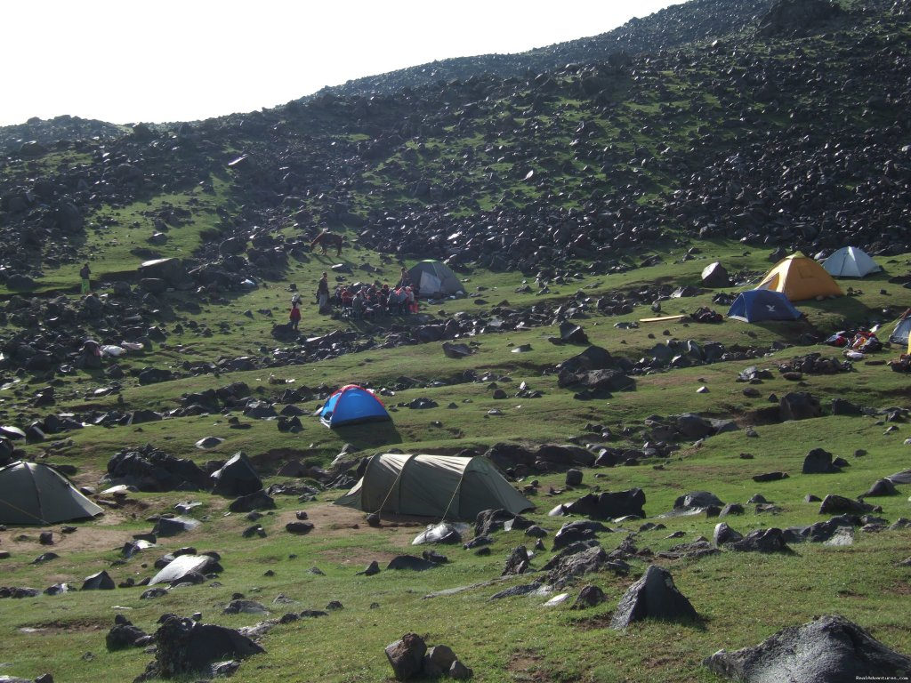 Second Camp on Ararat | Image #7/16 | Trekking Ararat,Ararat Expedition,Ararat Ski tours