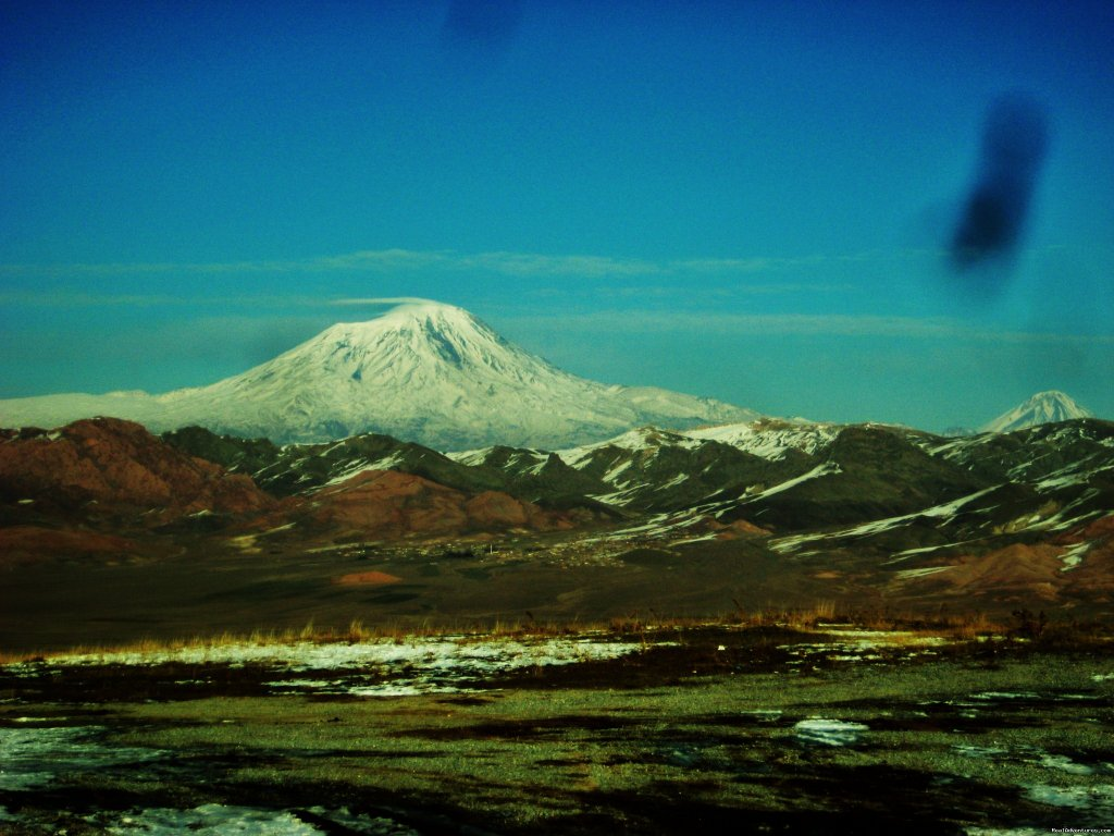 Ararat from long distance | Image #9/16 | Trekking Ararat,Ararat Expedition,Ararat Ski tours