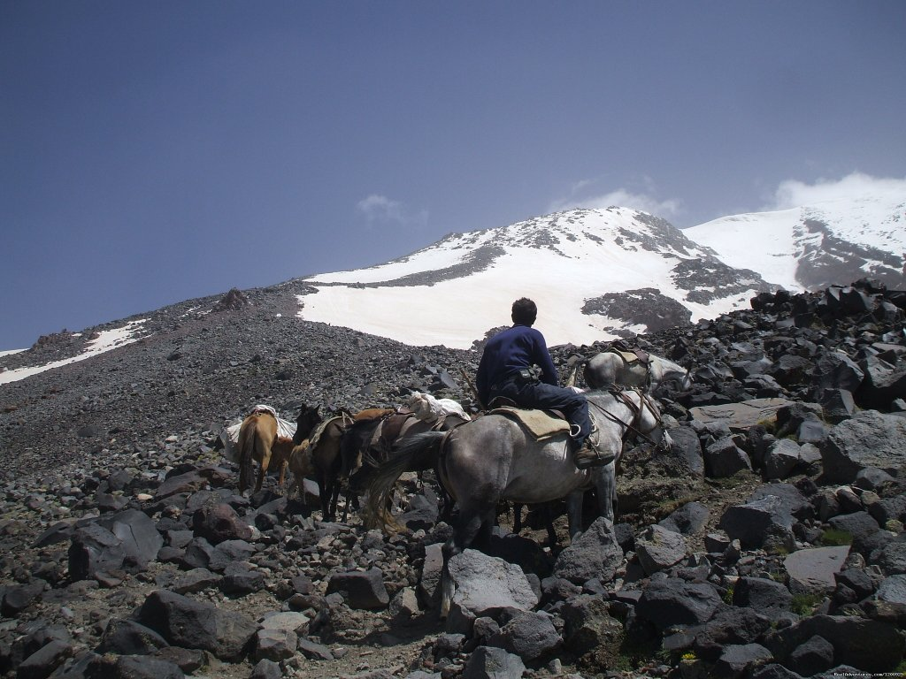 Baggage train | Image #11/16 | Trekking Ararat,Ararat Expedition,Ararat Ski tours