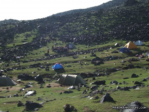 Second Camp on Ararat - Trekking Ararat,Ararat Expedition,Ararat Ski tours