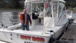 Hot Rod, a real fishing Boat/ Wild Life Experance Auke Bay, Alaska Fishing Trips