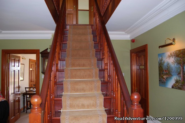 stairway in lurganhouse B&B - Lurgan House