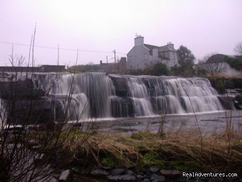Waterfall in Ennistymon - Hill Brook Farm