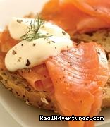 Drumbeagh House: Our Smoked Salmon Breakfast