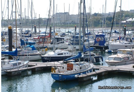 Malahide marina - Evergreen