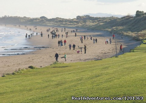 Portmarnock Beach - Tara B & B a haven for golfers