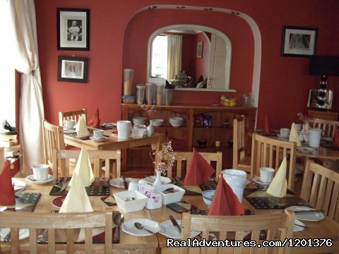 View of our Dining area - Approx a 7 minute drive from the Airport