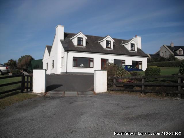 Cnoc Breac.Cleggan, Connemara, Ireland Cnoc Breac B & B, Front view