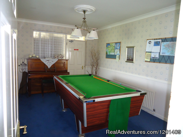 Games Room - Heather Lodge..a home from home
