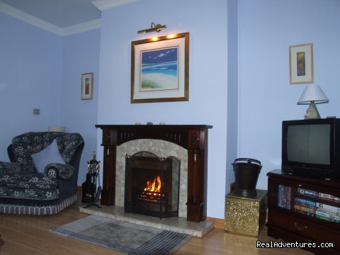 Sitting Room - Cornerstones B&B
