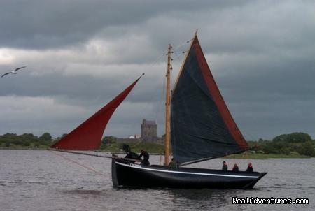 Galway Hooker. Kinvara 2009 - Conneely's
