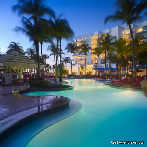 Aruba Marriott Free fom Pool - Aruba Marriott Resort & Stellaris Casino