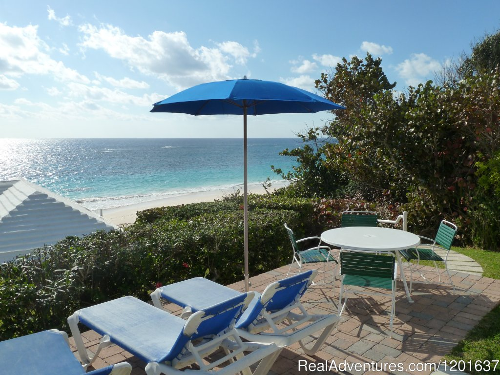 Bermuda Vacation Rental.  Two, two-bedroom beach cottages in a private residential area on the Beach.  Each cottage accommodates up to 4 adults or a family of 5 depending on the ages of the children.  Winter & Summer rates + taxes