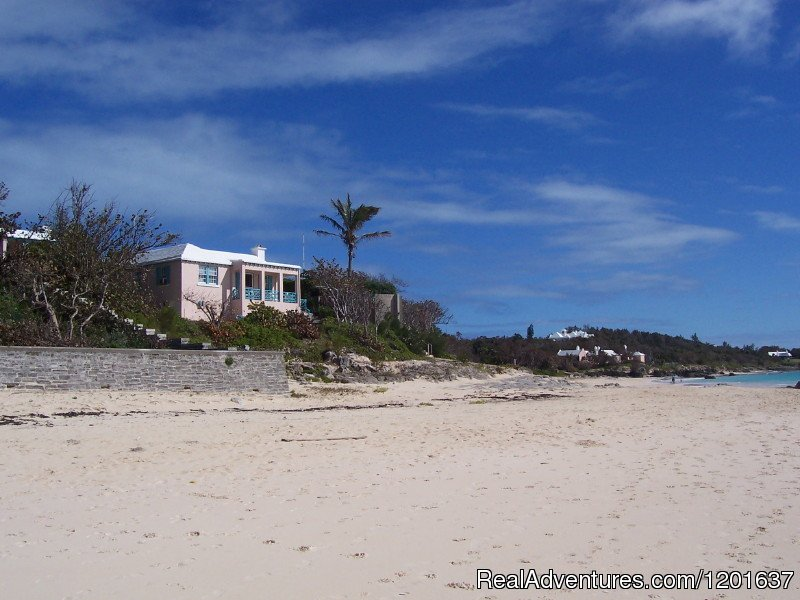 Beach Home Cottage from the Beach | Image #4/6 | Grape Bay Cottages