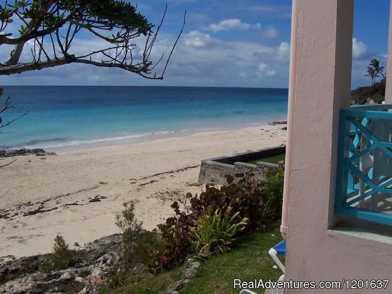 View from Beach Home Cottage Patio | Image #6/6 | Grape Bay Cottages
