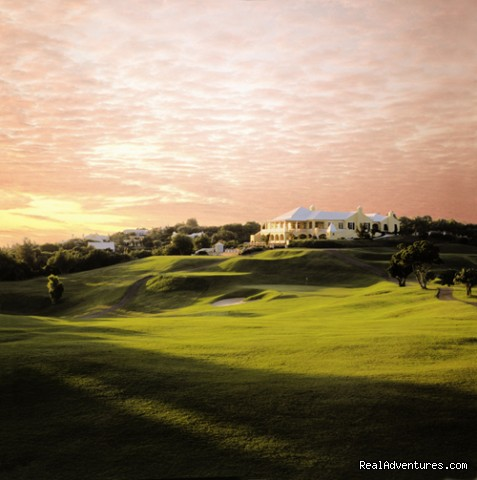 The Golf Clubhouse at dawn - Tucker's Point Hotel & Spa
