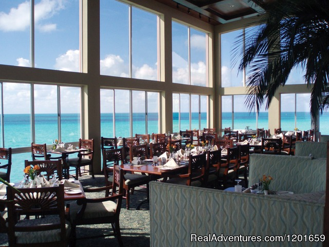 The resort's Ocean Grill restaurant - Pompano Beach Club