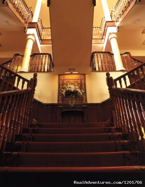 Staircase - Hayfield Manor Hotel