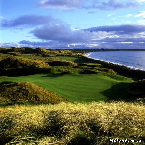 15th Hole on the Old Course at Ballybunion (#1 of 4) - Links Golf at its Best at Ballybunion Golf Club