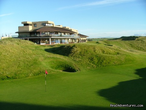 Clubhouse at Ballybunion Golf Club - Links Golf at its Best at Ballybunion Golf Club
