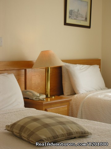 Classic Twin room - Halpin's Townhouse Hotel