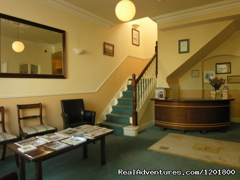 Reception - Halpin's Townhouse Hotel