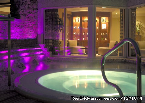 Our Outdoor Hot Tub - Ballygarry House Hotel & Spa an Irish Gem