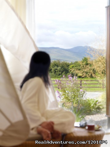 Ballygarry House Hotel & Spa an Irish Gem View from our Relaxation Room