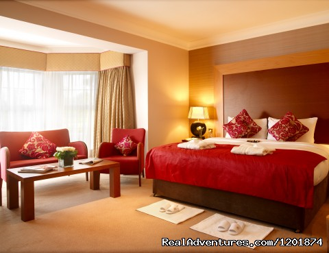 One of our Junior suites (#5 of 5) - Ballygarry House Hotel & Spa an Irish Gem