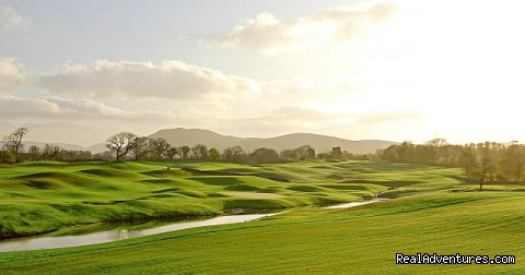 View over the Golf Course - Castle Dargan Golf Hotel Wellness,