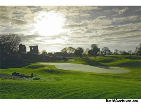Ruins of The Original Castle Dargan @ 2nd Green - Castle Dargan Golf Hotel Wellness,