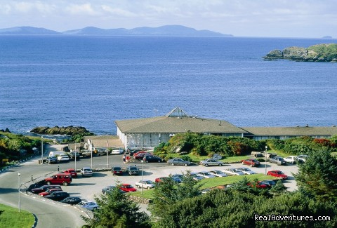 Ring of Kerry Seaside Adventures @ Derrynane Hotel: Derrynane Hotel overlooking the Atlantic Ocean