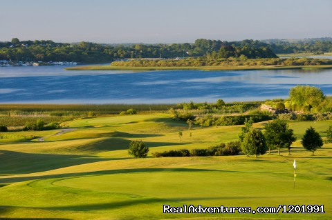 18th Green - Lakeside Escape Glasson Country House Hotel