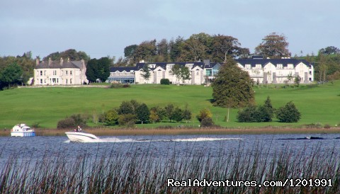 Glasson Country House Hotel from the Lake - Lakeside Escape Glasson Country House Hotel
