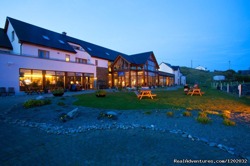 Inishbofin House Hotel, located on the scenic island of Inishbofin, off the Connemara coast in the west of Ireland is a haven for rest, relaxation, and rejuvenation.  Endless walks on desserted beaches await you....