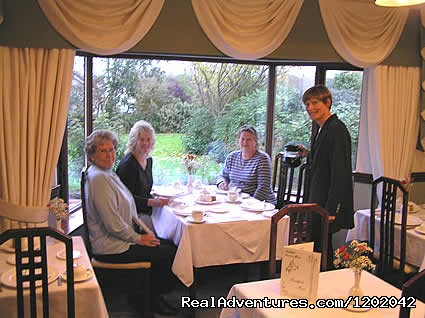 Kathleens Country House Garden Dining Room - Kathleens Country House The Best Irish Hospitality