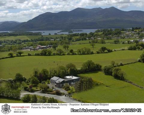 Aerial Photo showing Kathleens superb setting (#17 of 20) - Kathleens Country House The Best Irish Hospitality