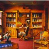 Kathleens Country House Library with WIFI and Computer
