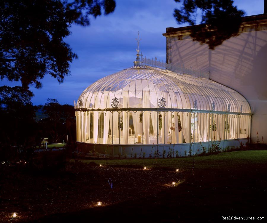 Turner Conservatory by night | Image #3/20 | Longueville House Hotel & Sporting Estate