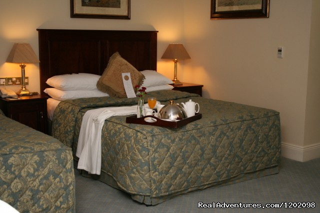 Breakfast in Bed - Maudlins House Hotel - Indulge Yourself