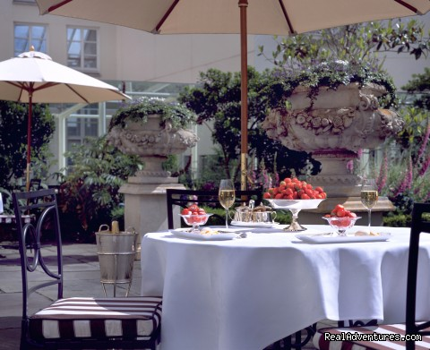 The Garden Terrace - Merrion Hotel