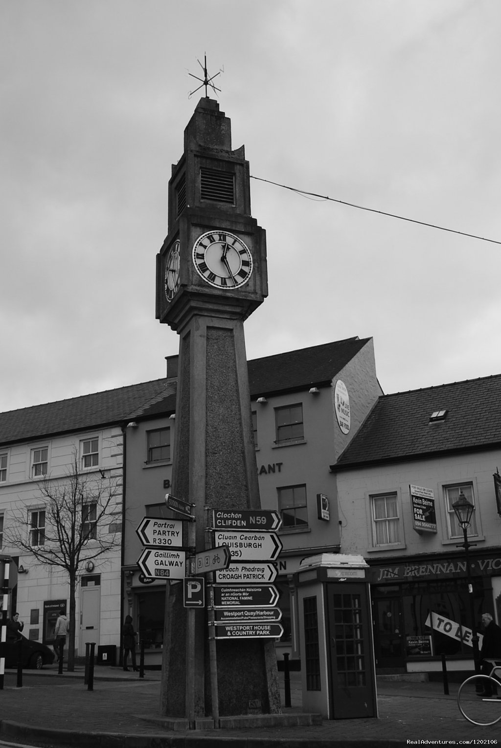 Located beside the historic clock tower in Westport | Image #5/6 | Mill Times Hotel Westport