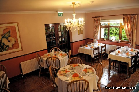 Moat Lodge B&B, Breakfast room - Moat Lodge B&B  Lucan