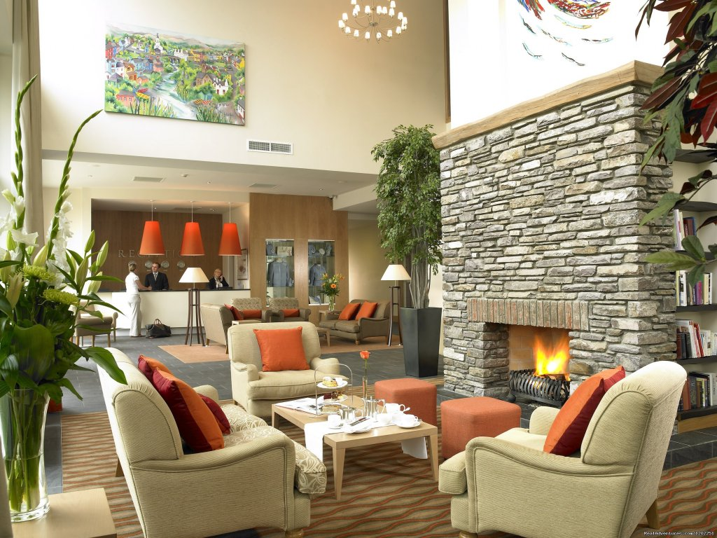 Sneem Hotel Lobby with Open Fire | Image #3/6 | Sneem Hotel & Apartments