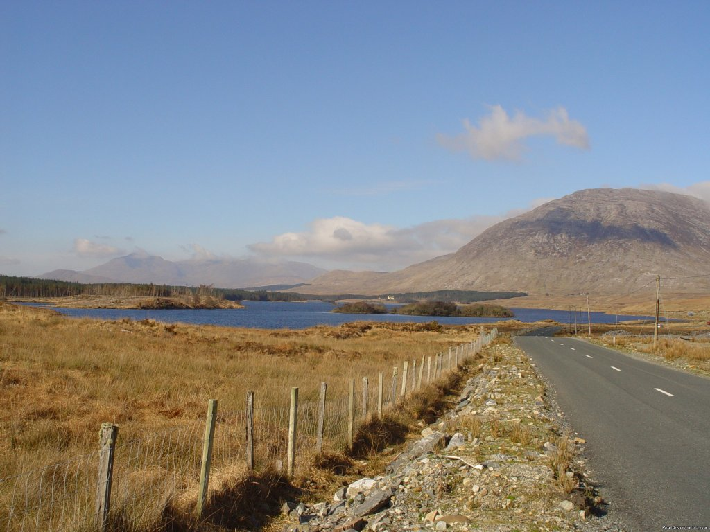 Ideally situated for todays Adventure seekers great area for Triathlons, walkers, sea-sports, scuba-diving, cycling. Or just a relaxing break in our hotel, within the shadow of two of the most beautiful mountain ranges in Connemara,