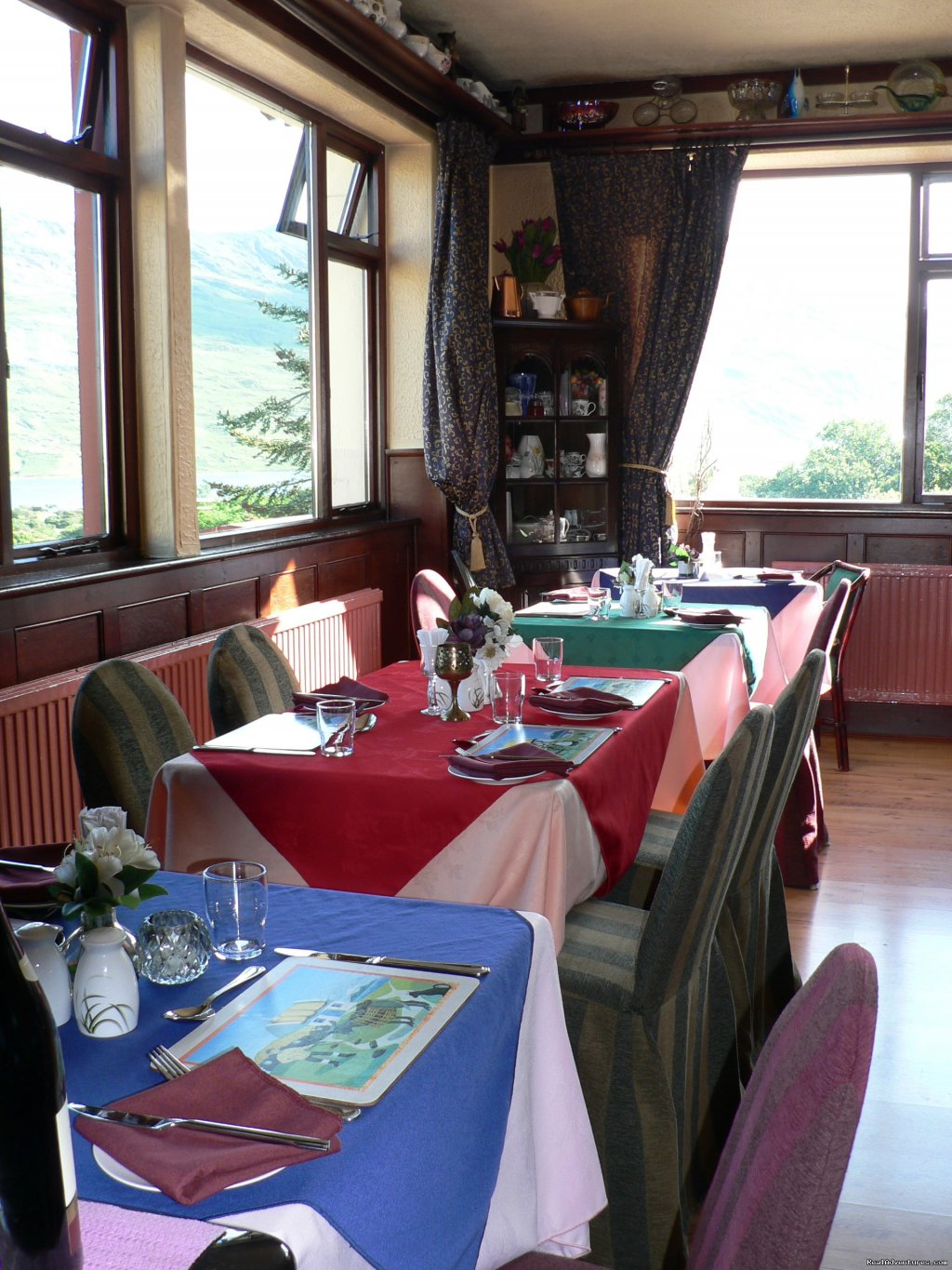 part of dining room with stunning views | Image #17/25 | Kylemore Pass Hotel