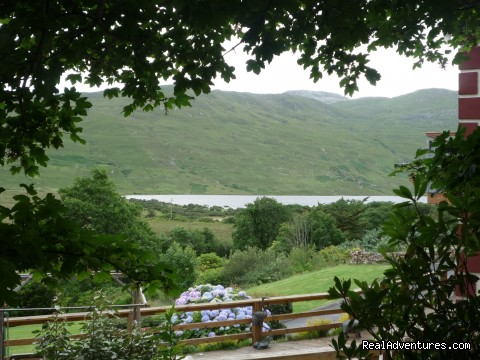 View from bedrooms - Kylemore Pass Hotel
