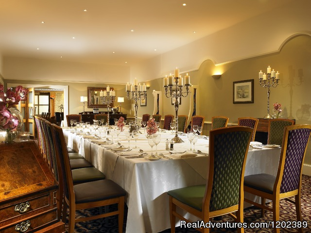 Private Dinning in the Westport Suite - Hotel Westport Leisrue - Spa - Conference